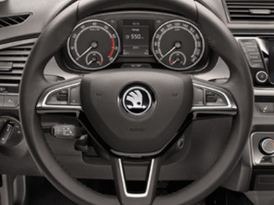 Fabia multi function steerwheel