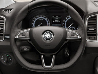 Karoq multi function steering wheel