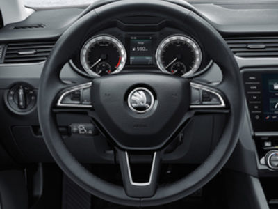 Octavia multi function steerwheel