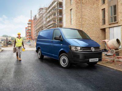 Volkswagen transporter building site