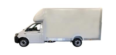 Transporter Luton Van
